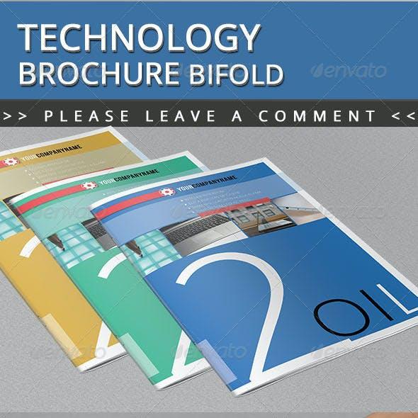 Technology Brochure Bifold