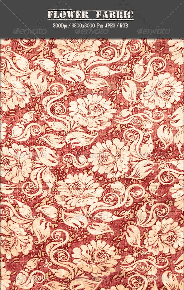 Flower Fabric 10 - Fabric Textures