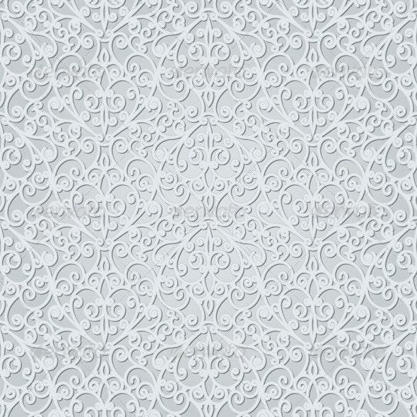 Abstract Grey Seamless Pattern - Patterns Decorative