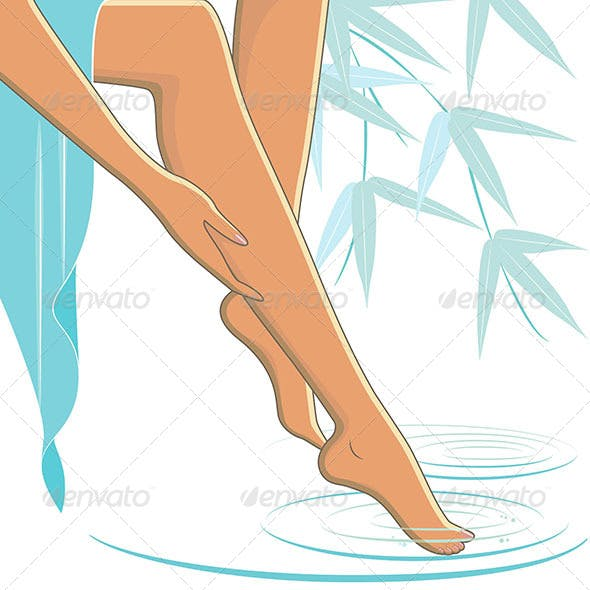 Legs Spa Bamboo