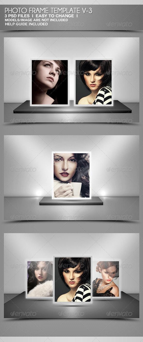 Photo Frame Templates V-3 - Miscellaneous Photo Templates