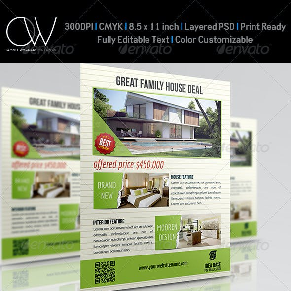 Real Estate Flyer Vol.6