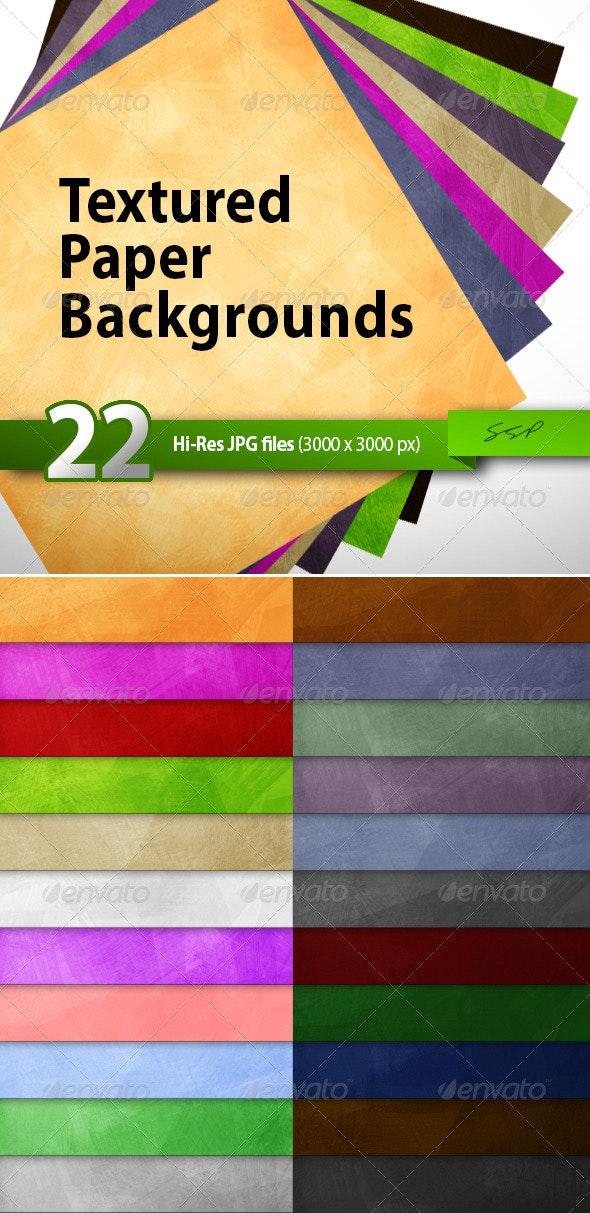 22 Hi-Res Paper Texture Backgrounds - Paper Textures