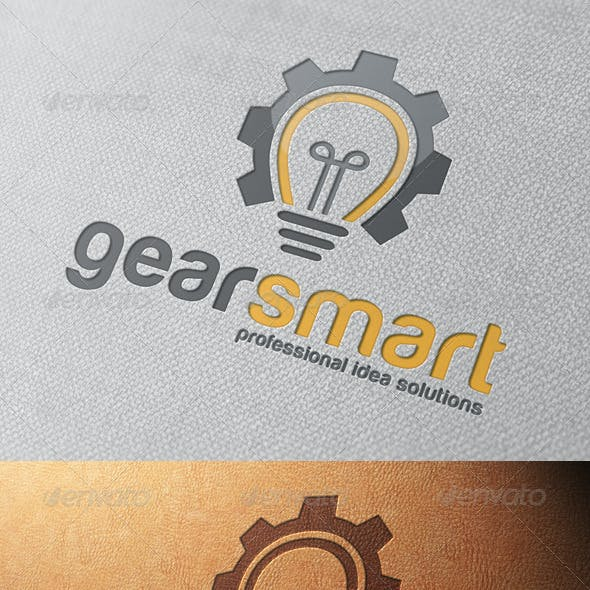 Idea Gear Logo Template