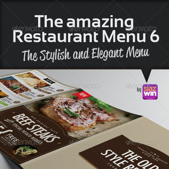The Restaurant Menu 6