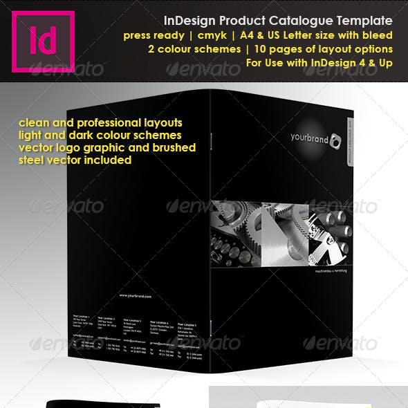 Product Catalogue In Design Template