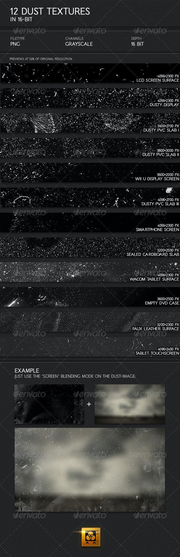 12 Dust Textures - Miscellaneous Textures