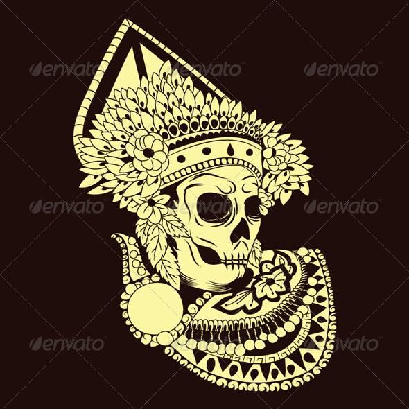 Baris Skull Balinese Dances