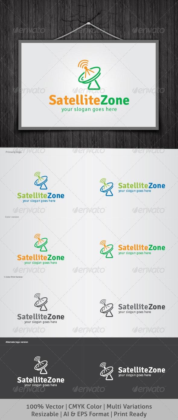 Satellite Zone Logo - Objects Logo Templates