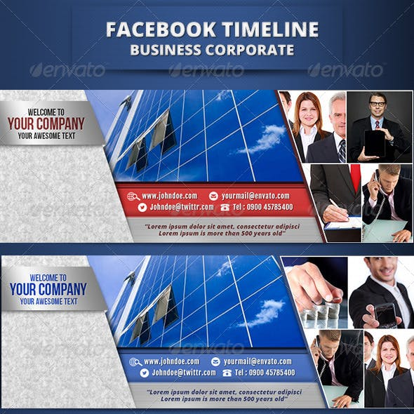 Fb Timeline Business Corporate II
