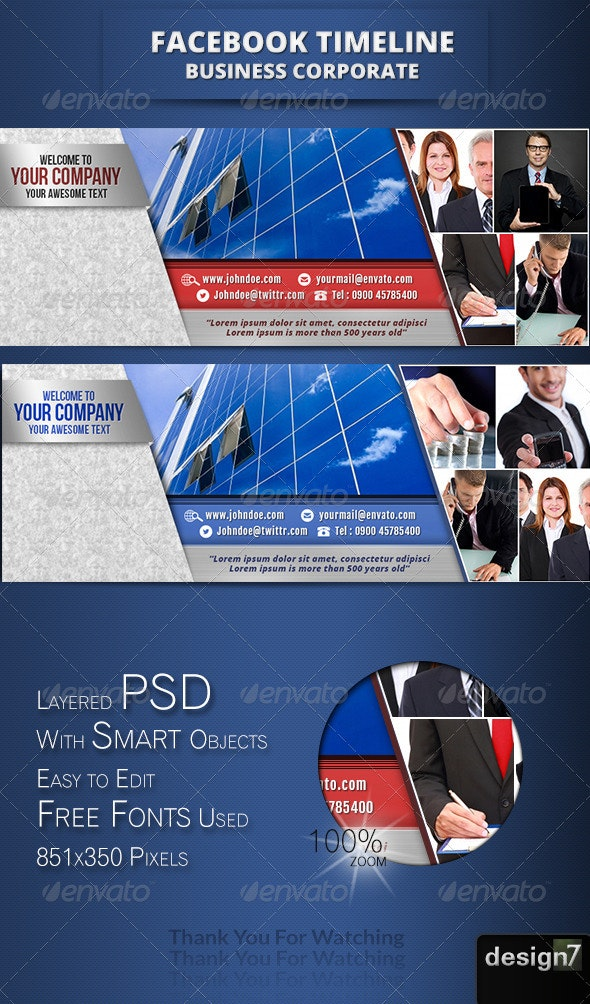 Fb Timeline Business Corporate II  - Facebook Timeline Covers Social Media