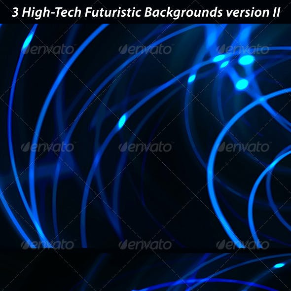 3 High Tech Futuristic Networks Backgrounds 2