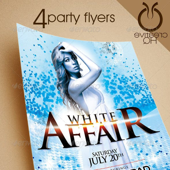 Party Flyers ( 4in1 )