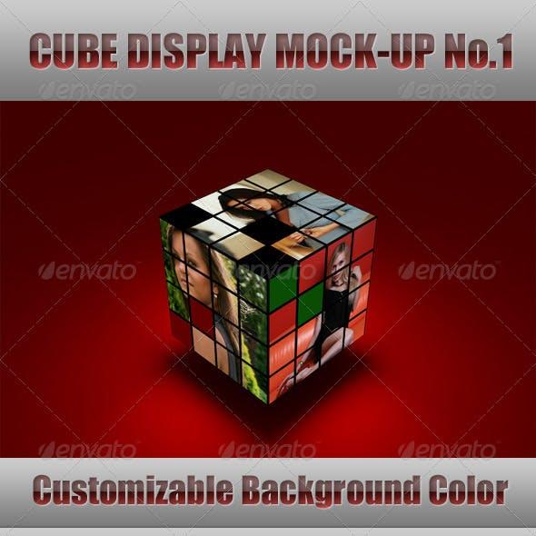 Cube Display Mock-Up