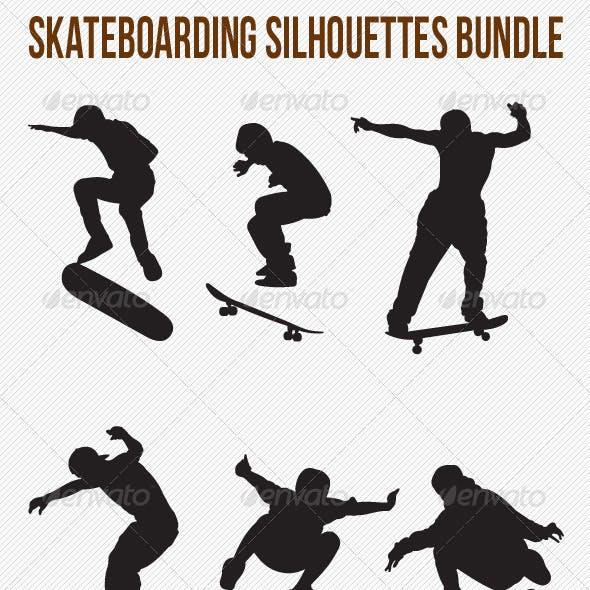 Skateboarding Silhouettes Bundle
