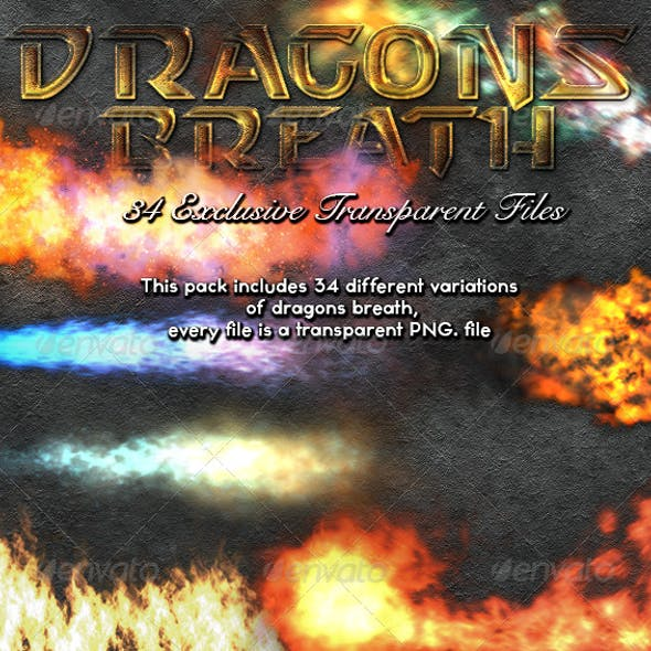 Dragons Breath Transparent Fire Pack