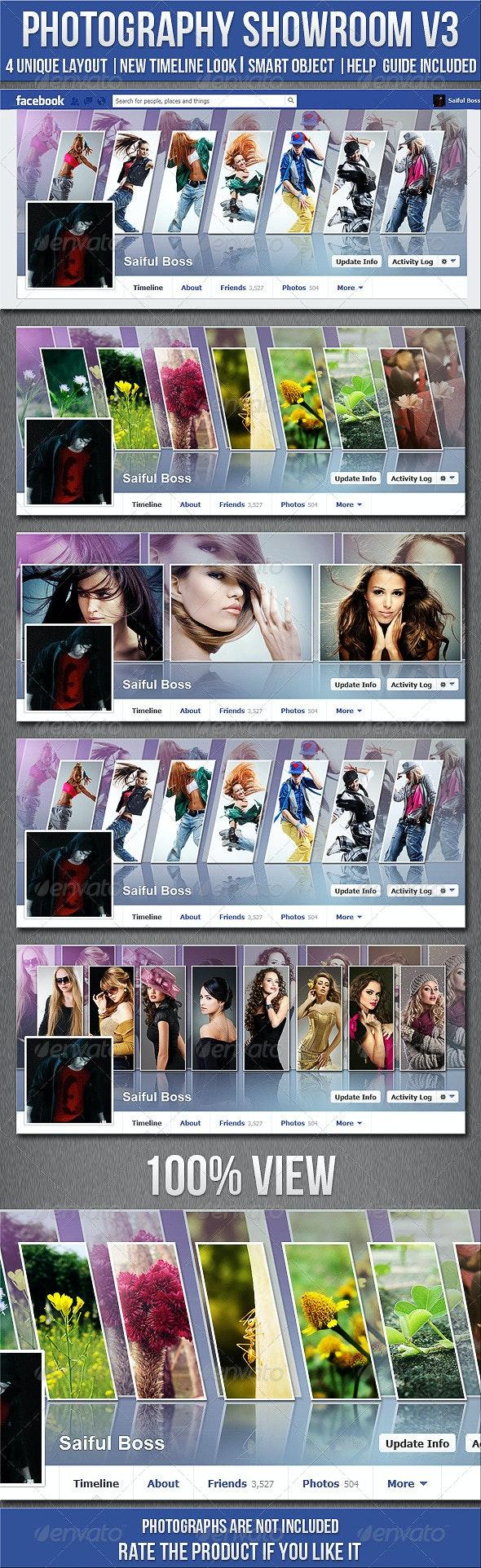 Photography Showroom Facebook Timeline Cover V3 - Facebook Timeline Covers Social Media