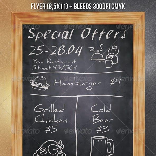 Chalkboard Flyer