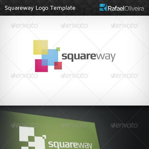Squareway Logo Template