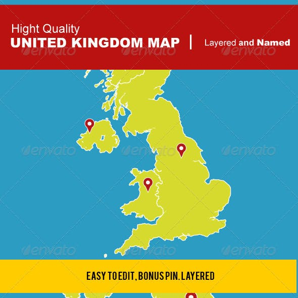 UK Vector Map