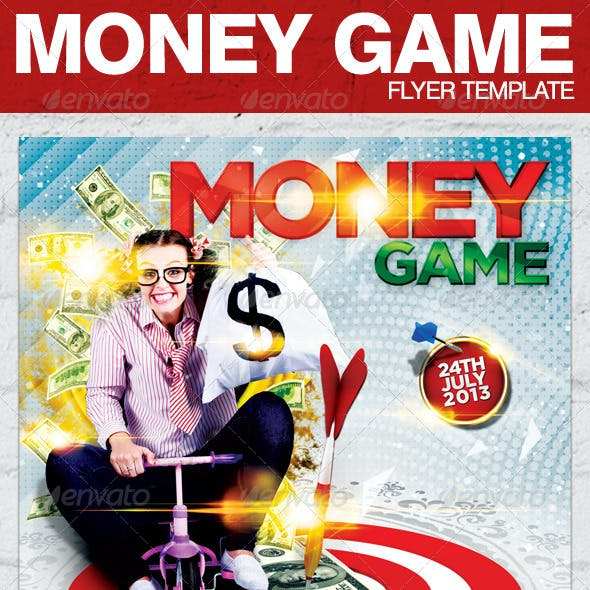 Money Game Flyer Template