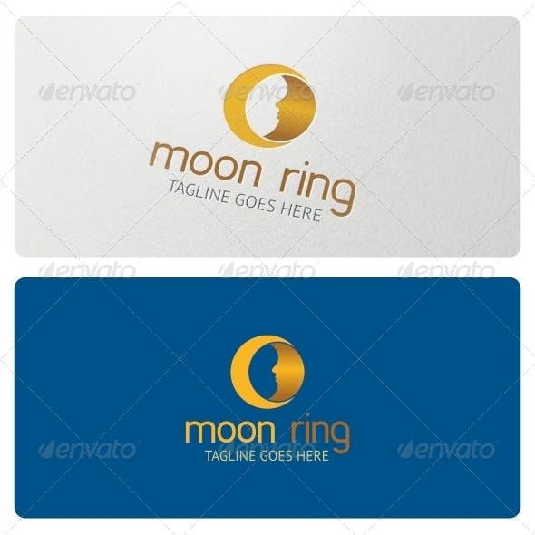 Moon Ring Logo Template