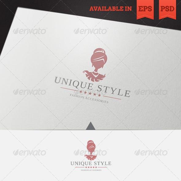 Unique Style Logo Template