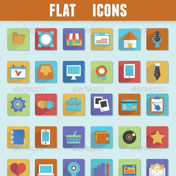 Flat Icons for Design
