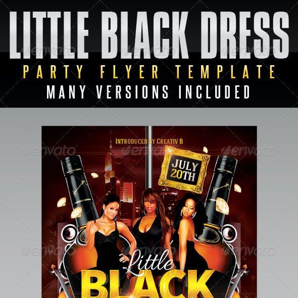 Little Black Dress Party Flyer Template