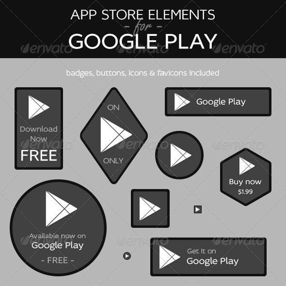 App Store Elements for Google Play