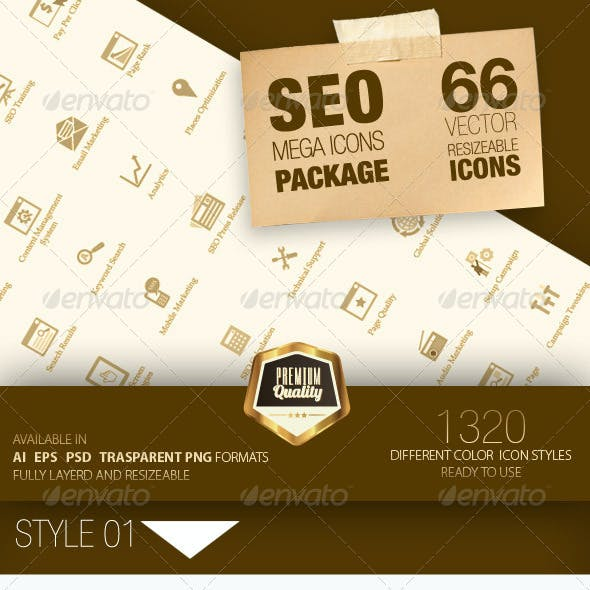 Seo Mega Icons Pack