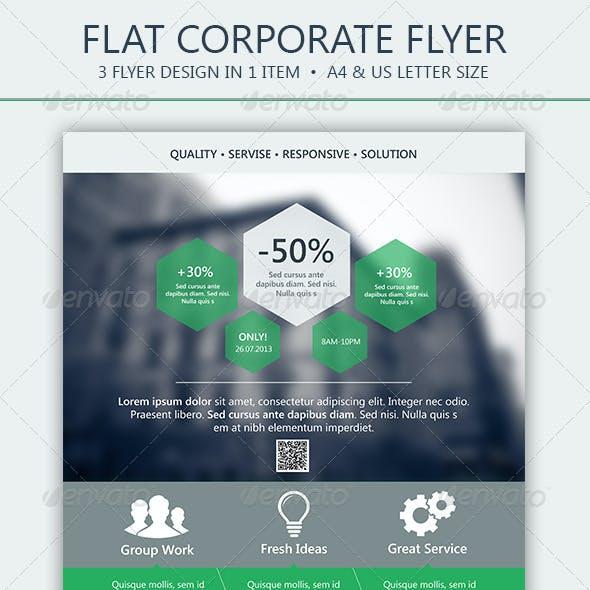 Flat Corporate Flyer