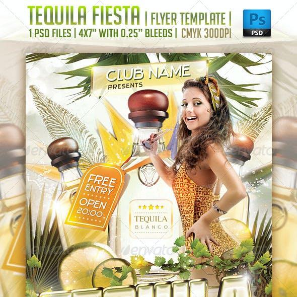 Tequila Fiesta Flyer Template