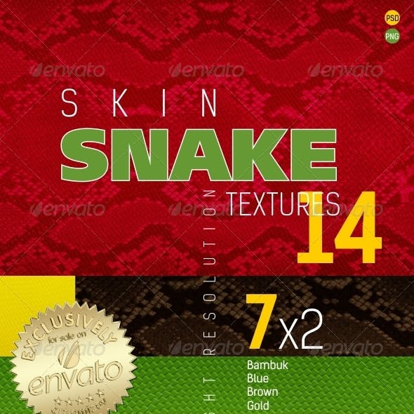 Snakeskin Texture Backgrounds