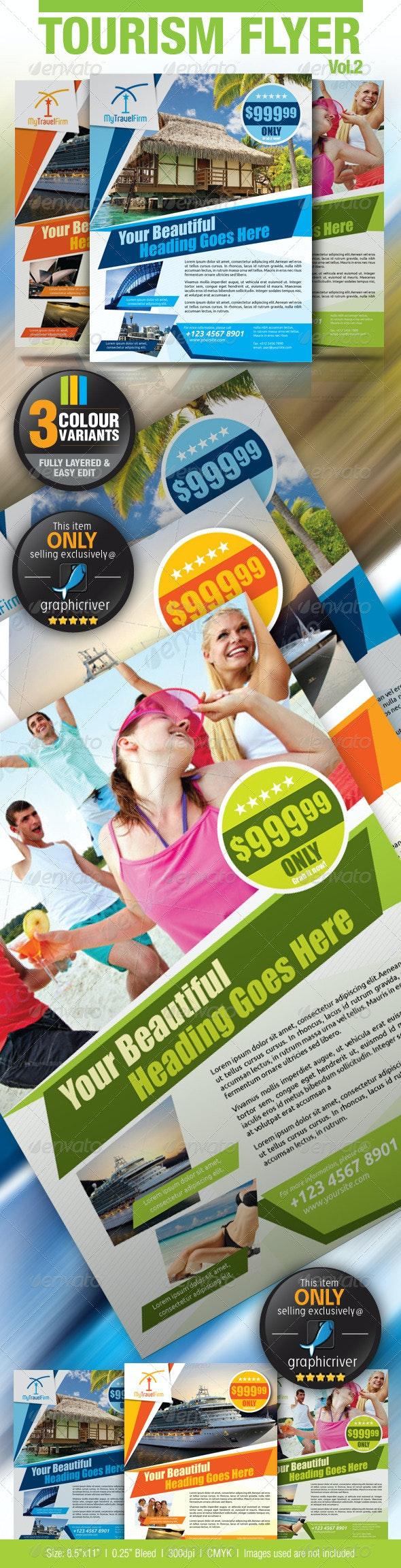 Tourism Flyer Vol.2 - Holidays Events