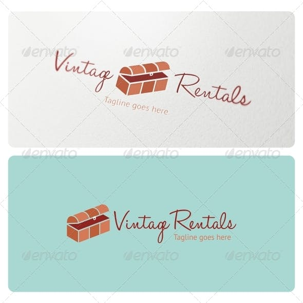 Vintage Rentals Logo Template