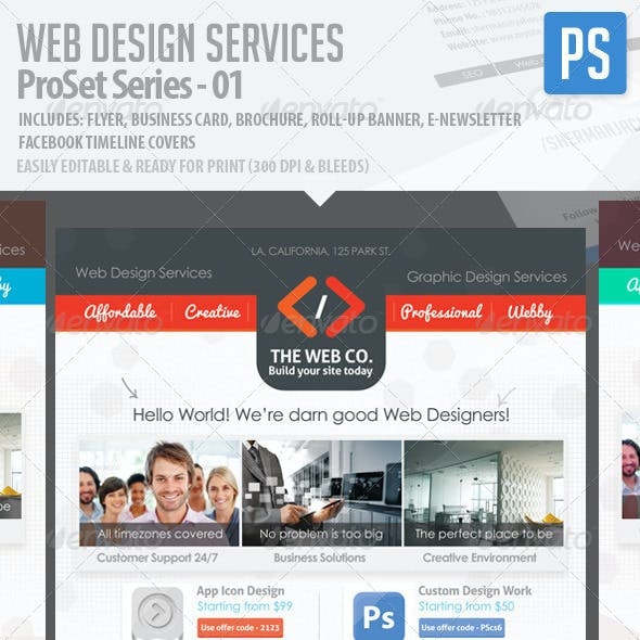 Web Design Service Pro Set - All in One Bundle