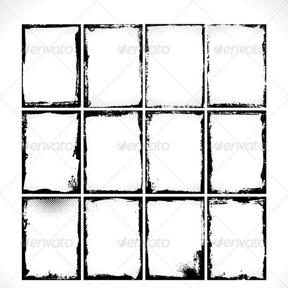 Grunge Frames Collection