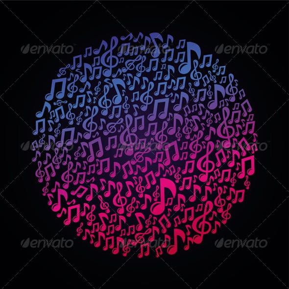 Vector Music Concept Musical Notes