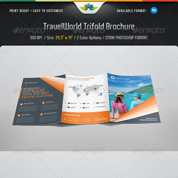 Travelworld Trifold Brochure