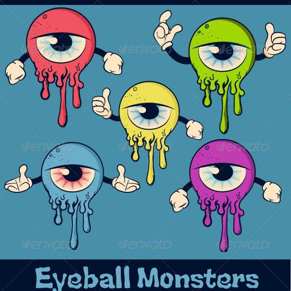 Eyeball Monsters Characters