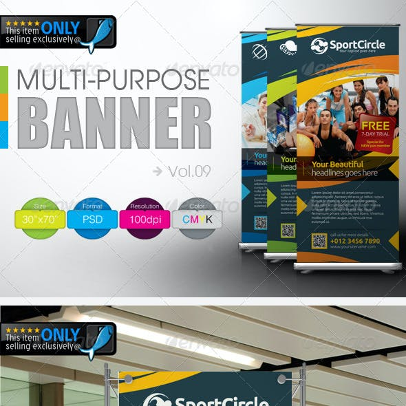 Multipurpose Banner Vol.9