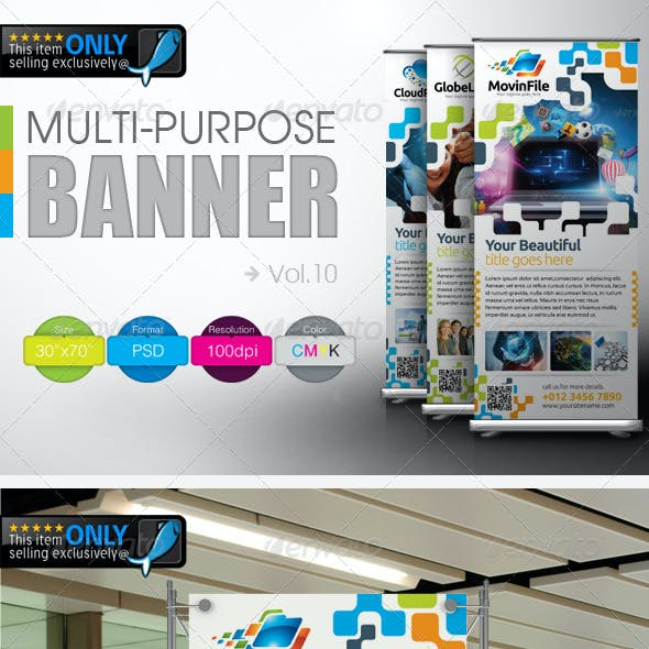 Multipurpose Banner Vol.10