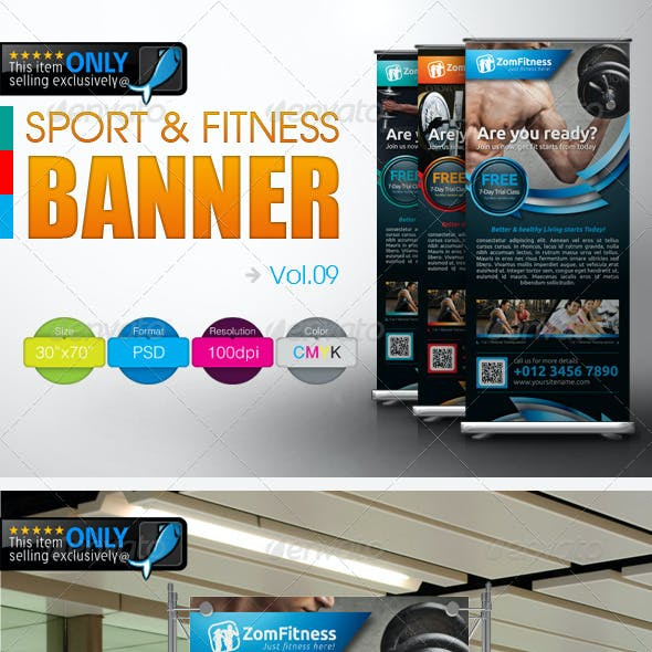 Fitness Banner Vol.9