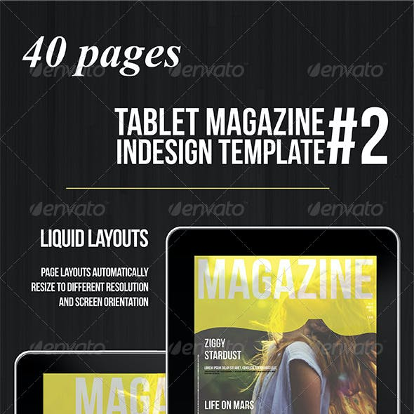 Tablet 40 Pages Multipurpose Magazine