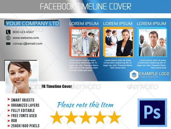 Corporate FB Timeline Cover 05 - Facebook Timeline Covers Social Media