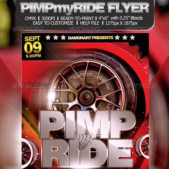Pimp My Ride Flyer Template