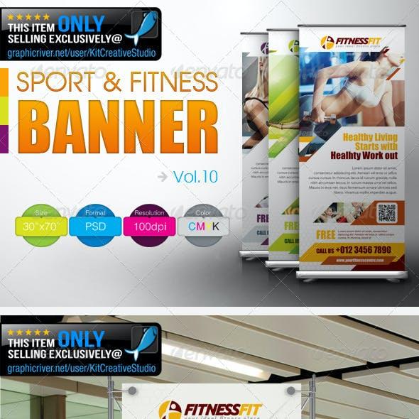 Fitness Banner Vol.10