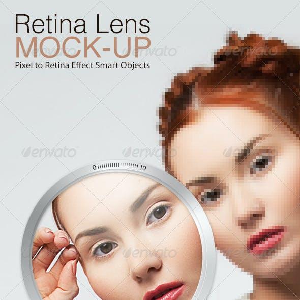 Retina Lens Mock-up