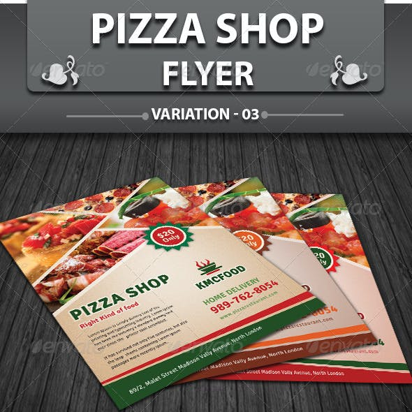 Effects and Fast Food Flyers Graphics, Designs & Templates